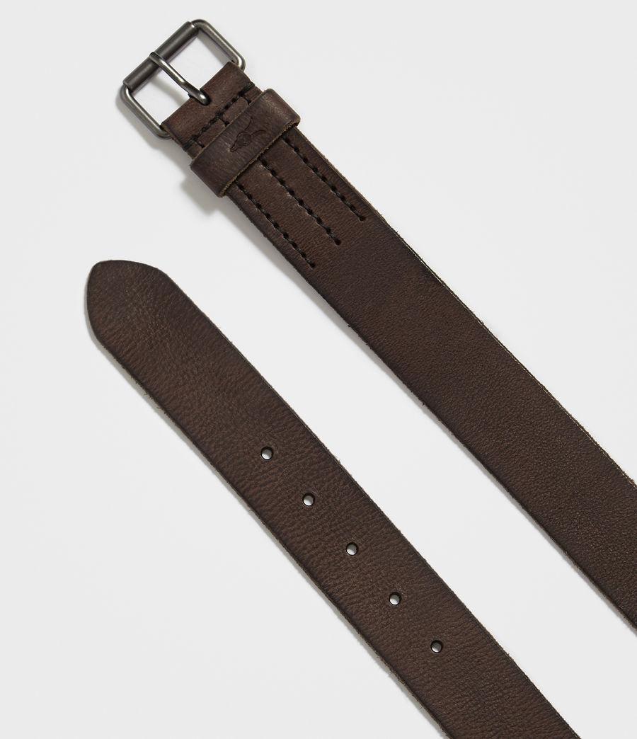 Hombre Dunston Leather Belt (bitter_brown) - Image 3