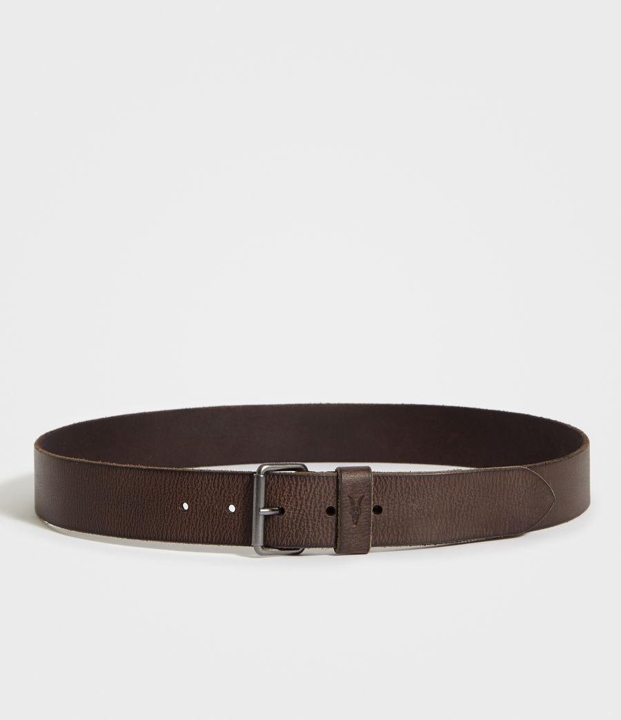 Hombre Dunston Leather Belt (bitter_brown) - Image 4