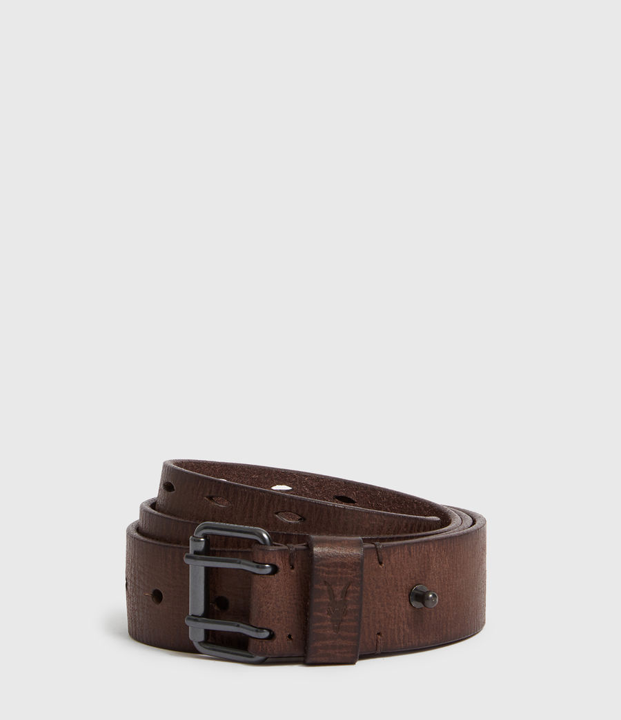 Mens Mill Leather Belt (bitter_brown) - Image 1
