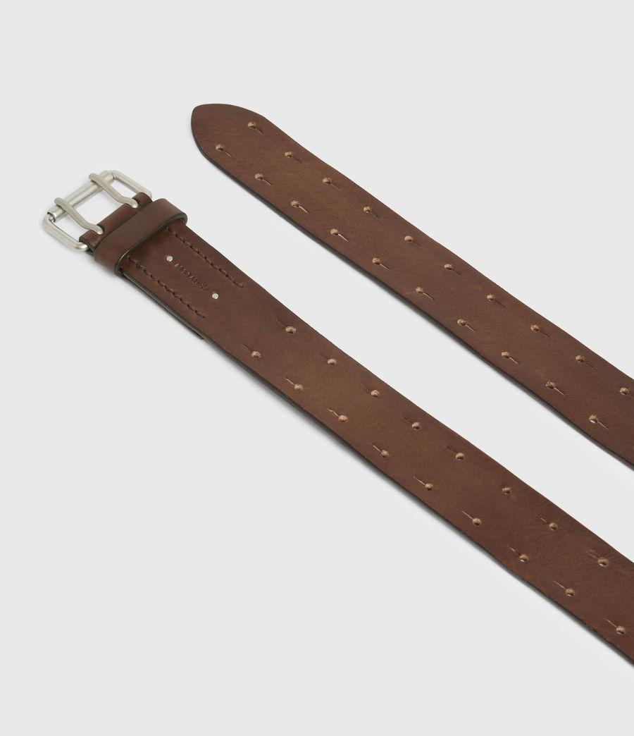 Men's Orion Leather Belt (saddle_brown) - Image 2