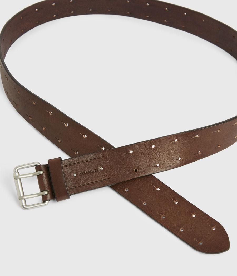 Men's Orion Leather Belt (saddle_brown) - Image 3