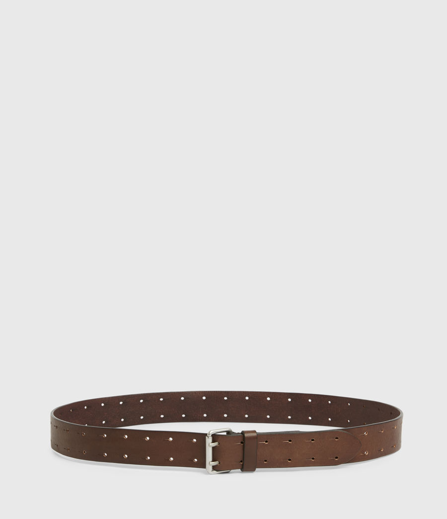 Men's Orion Leather Belt (saddle_brown) - Image 4