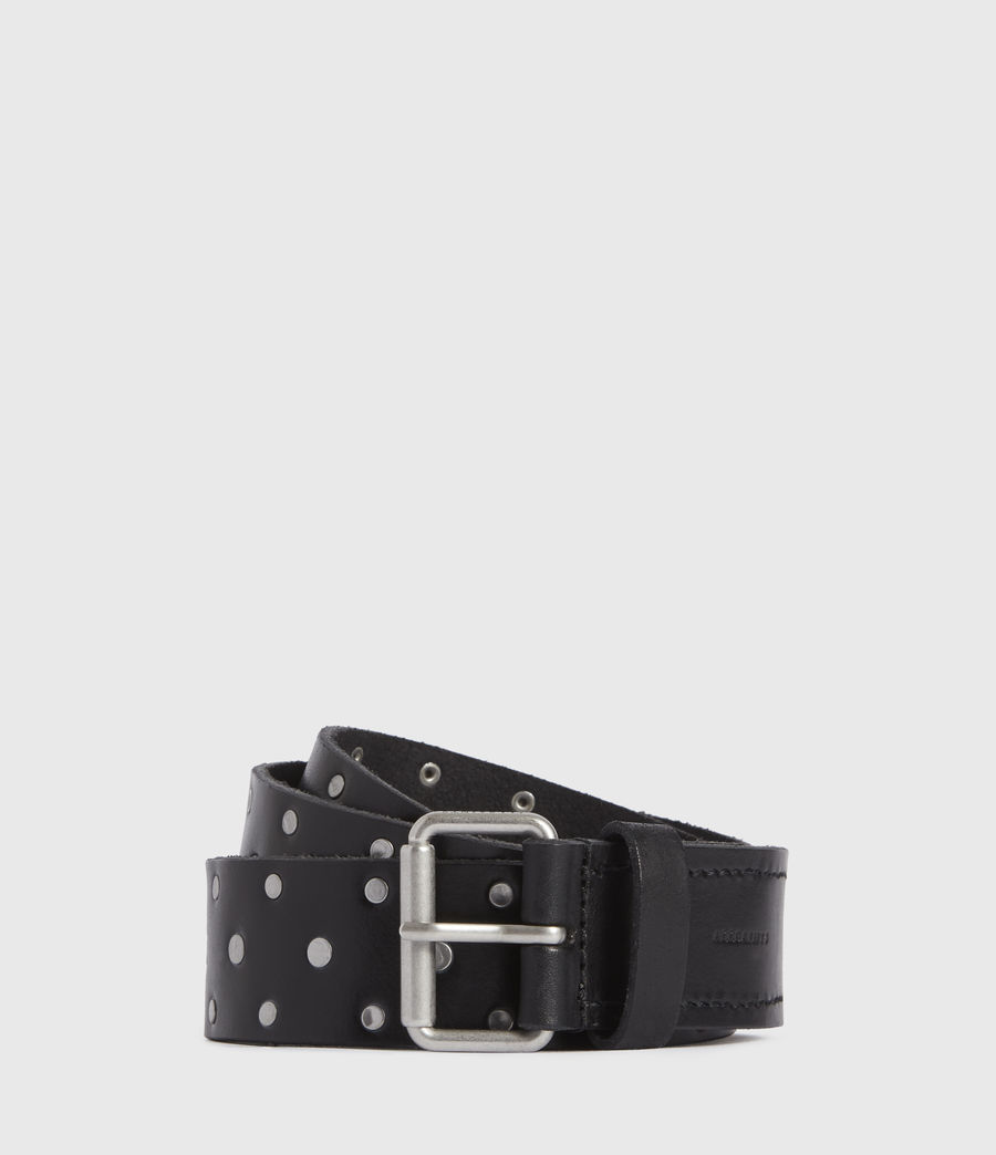 Mens Hawthorne Leather Belt (black) - Image 1