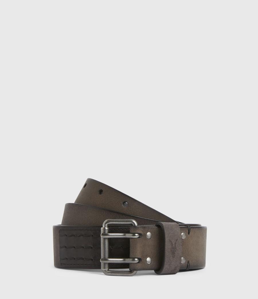 Men's Ryder Leather Belt (black) - Image 1