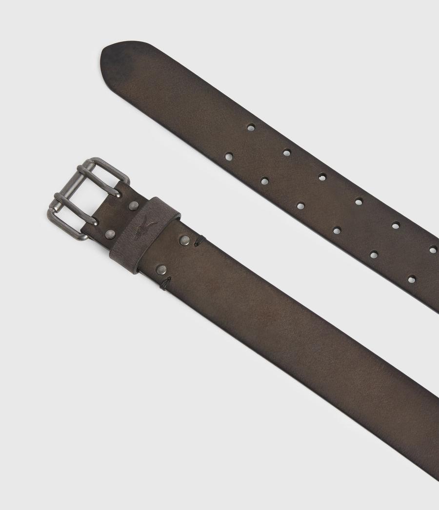 Men's Ryder Leather Belt (black) - Image 3