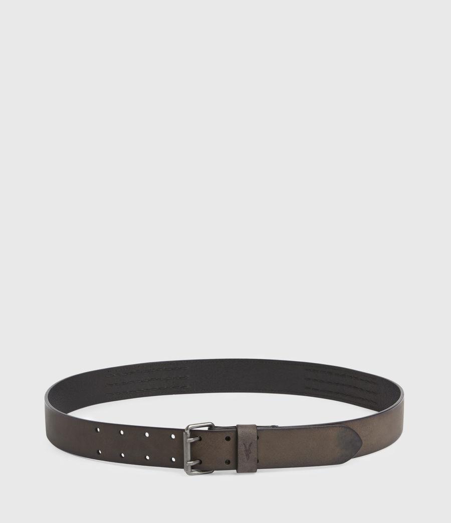 Men's Ryder Leather Belt (black) - Image 5