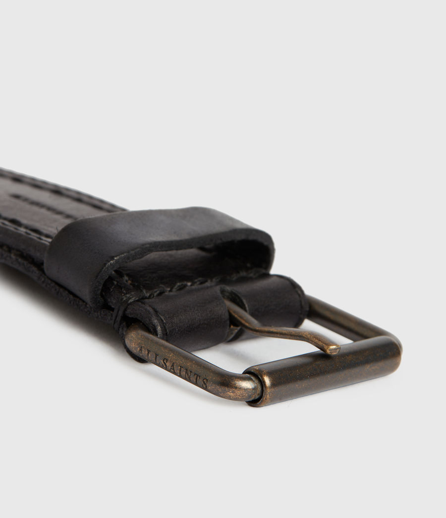 Men's Corley Leather Belt (black) - Image 5
