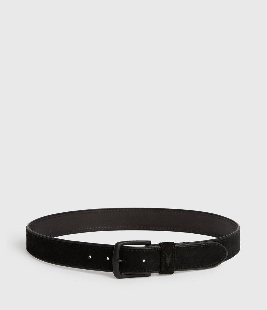 Men's Carson Leather Belt (black) - Image 6