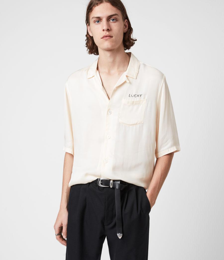 Men's Dex Leather Belt (black) - Image 4