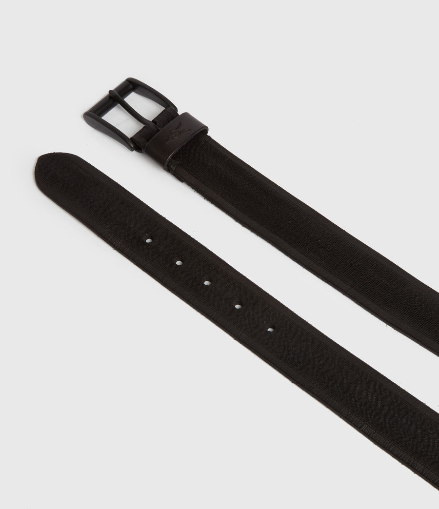 Men's Kelsoan Leather Belt (black) - Image 2
