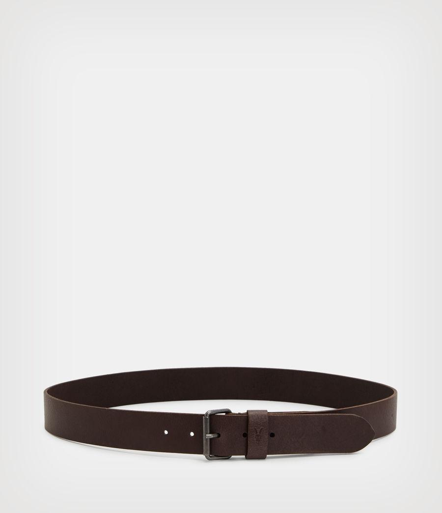 Men's Dunston Leather Belt (brown) - Image 5