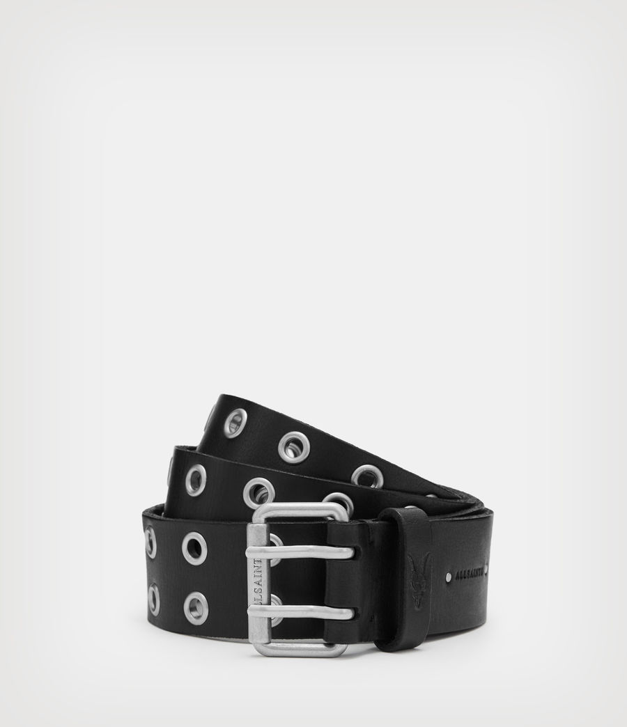 Mens Sturge Leather Belt (black) - Image 1