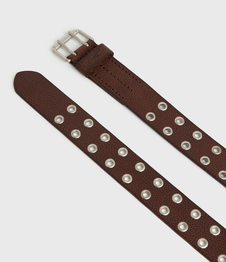 Men's Sturge Leather Belt (brown) - Image 3
