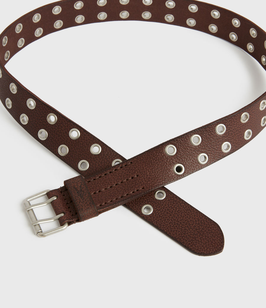Men's Sturge Leather Belt (brown) - Image 4
