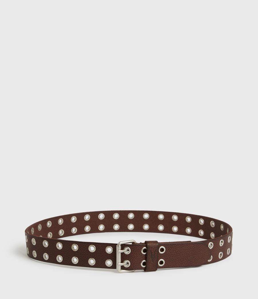 Men's Sturge Leather Belt (brown) - Image 5
