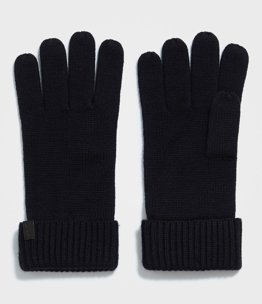 Men's Merino Gloves (ink_navy) - Image 1