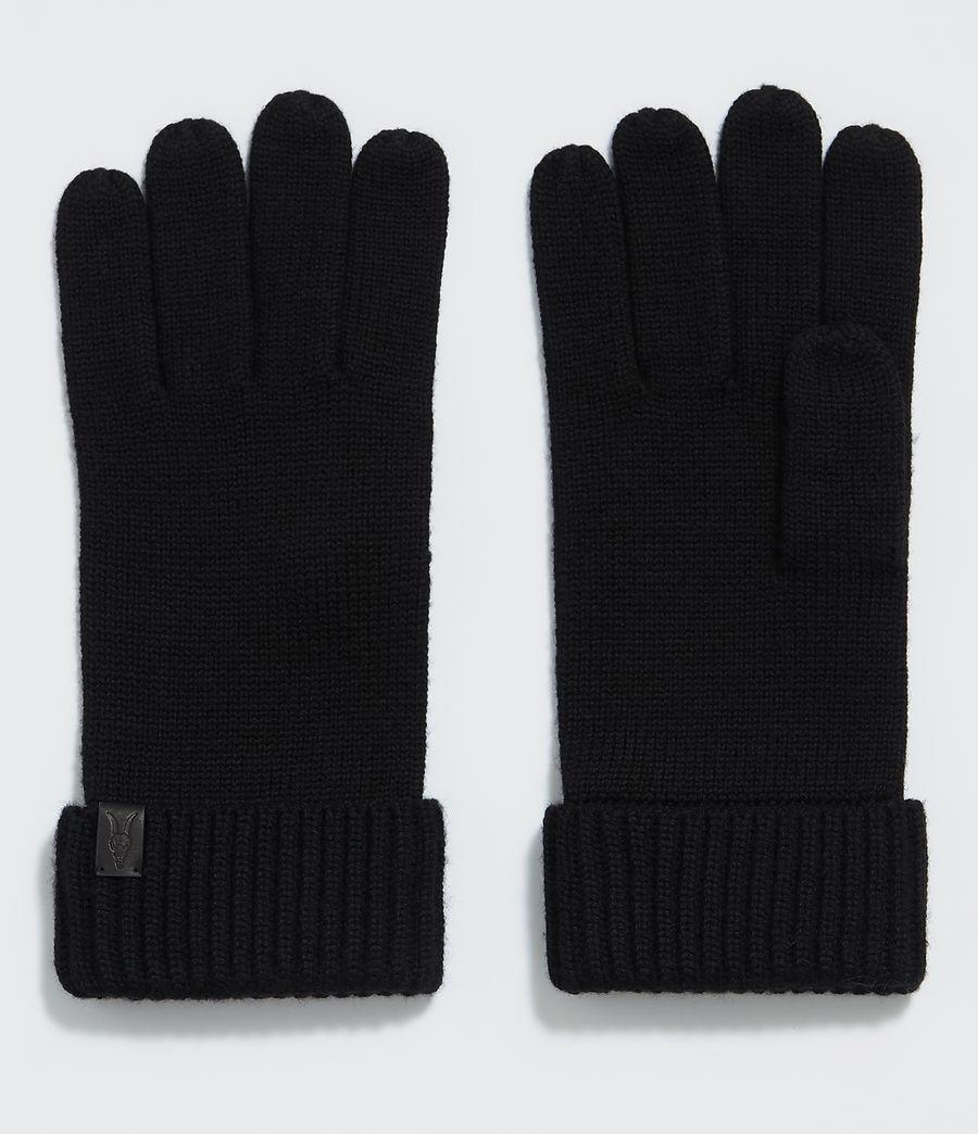 Hommes Gants Merino (black) - Image 1