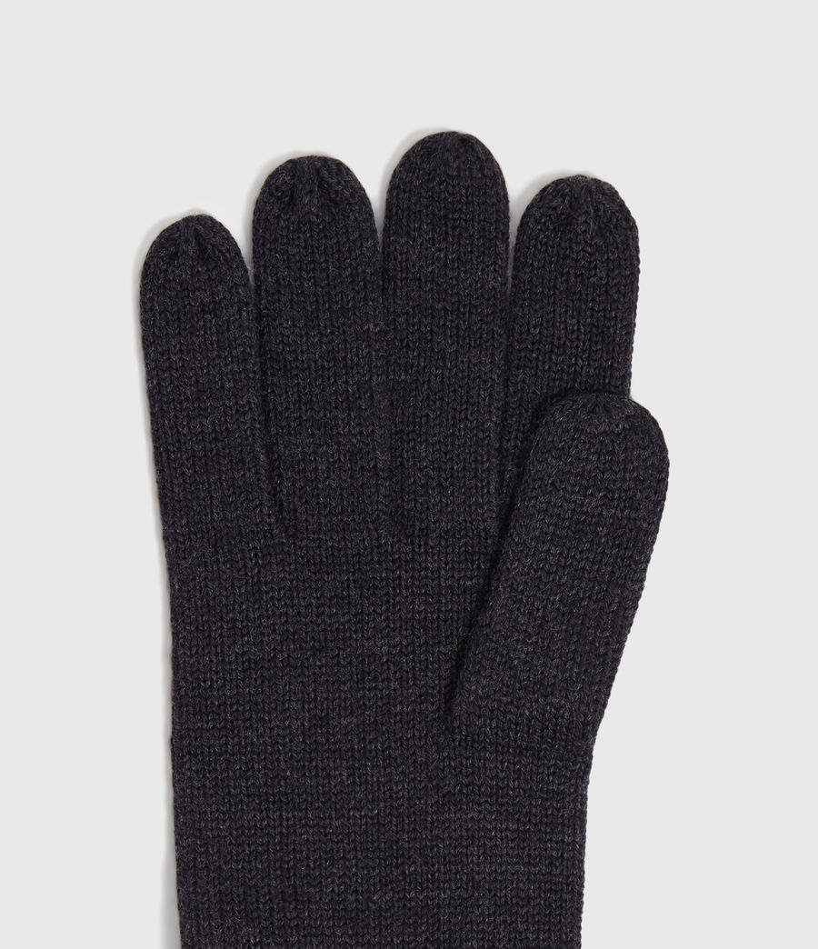 Men's Merino Wool Gloves (cinder_black_marl) - Image 3