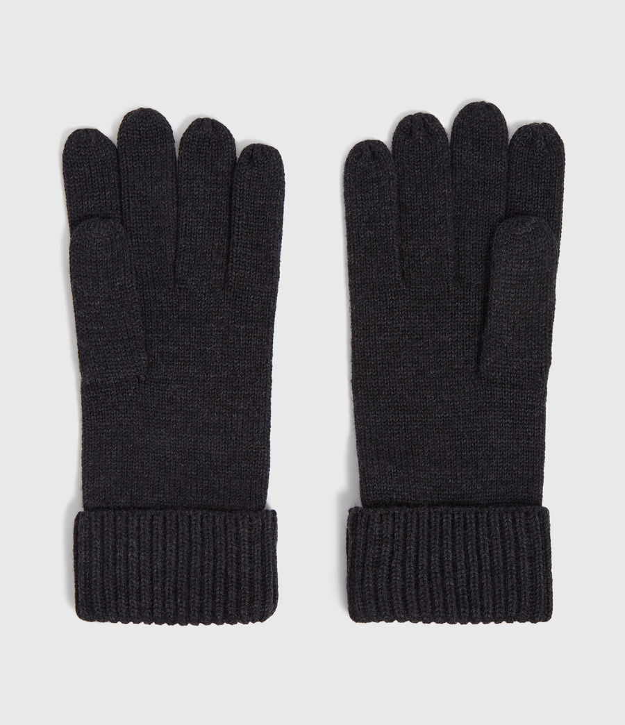 Men's Merino Wool Gloves (cinder_black_marl) - Image 4