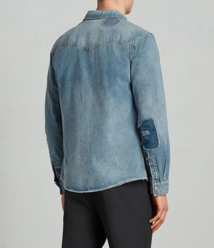 Mens Ilex Shirt (indigo) - Image 4