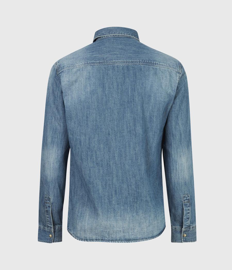 Men's Denning Denim Shirt (dark_indigo) - Image 3