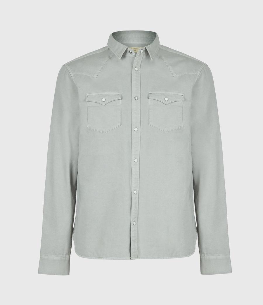 Men's Tubac Denim Shirt (cloud_grey) - Image 2