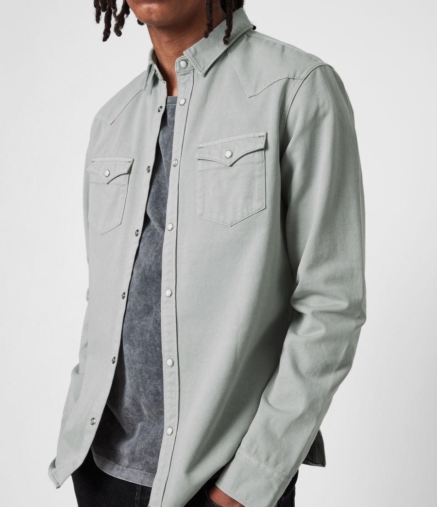 Men's Tubac Denim Shirt (cloud_grey) - Image 4
