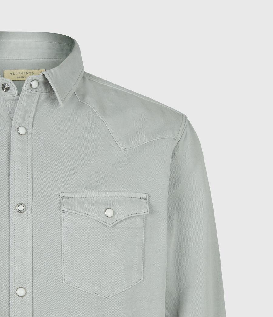 Men's Tubac Denim Shirt (cloud_grey) - Image 5