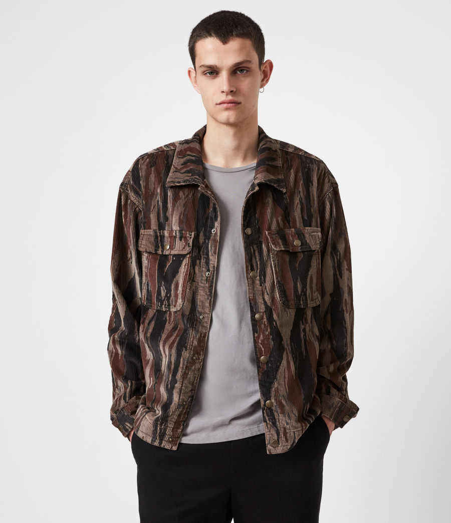 Men's Castleford Corduroy Shirt (valley_taupe) - Image 1