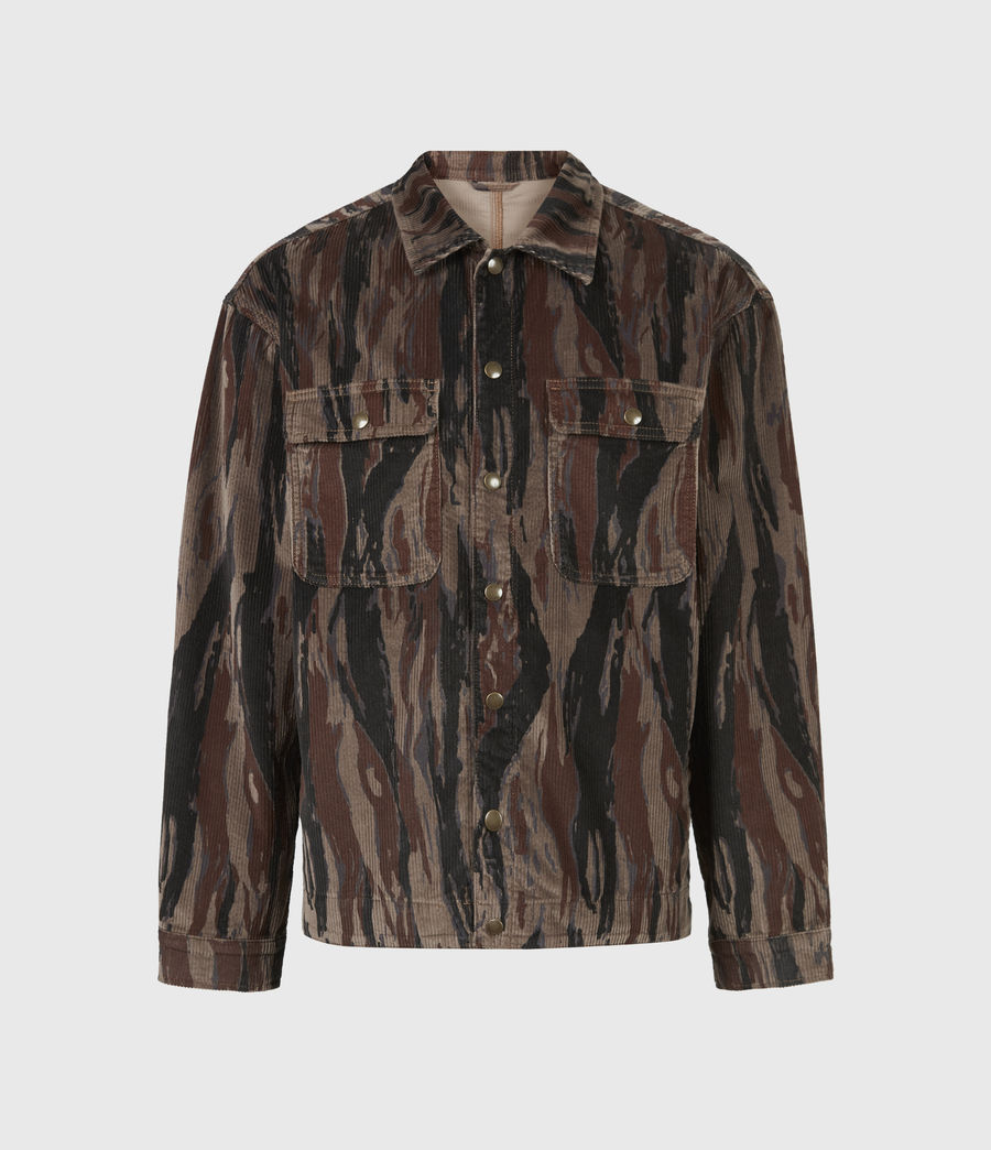 Men's Castleford Corduroy Shirt (valley_taupe) - Image 2