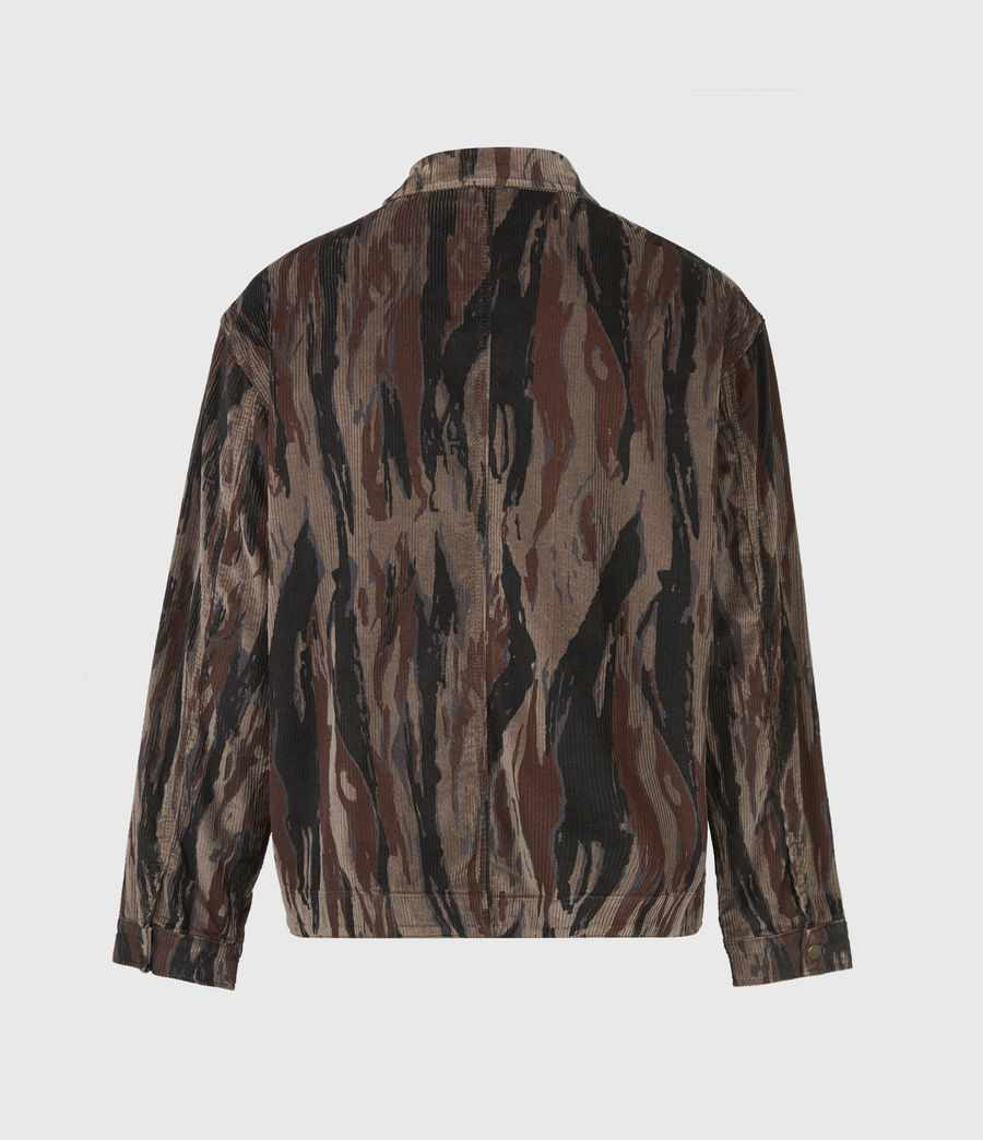 Men's Castleford Corduroy Shirt (valley_taupe) - Image 3