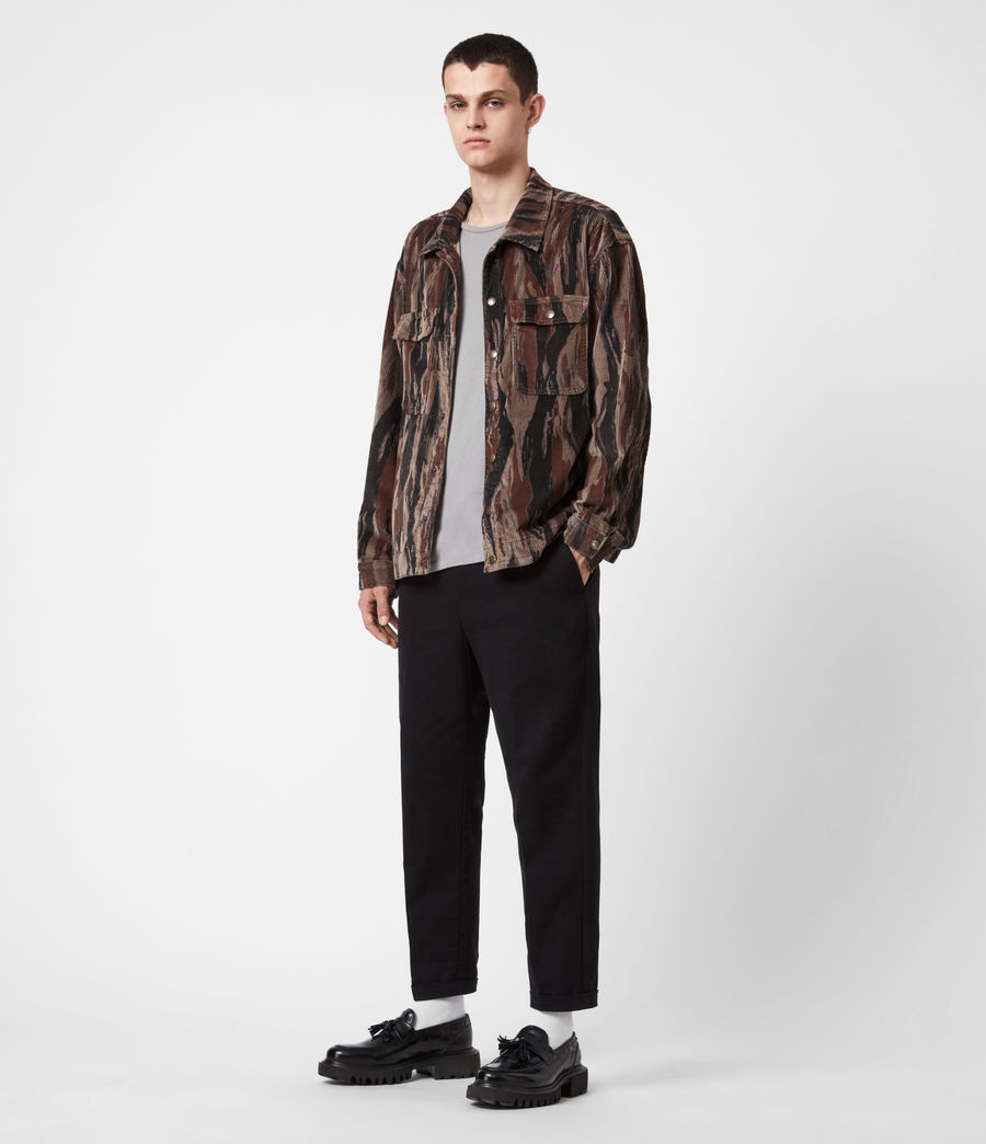 Men's Castleford Corduroy Shirt (valley_taupe) - Image 4