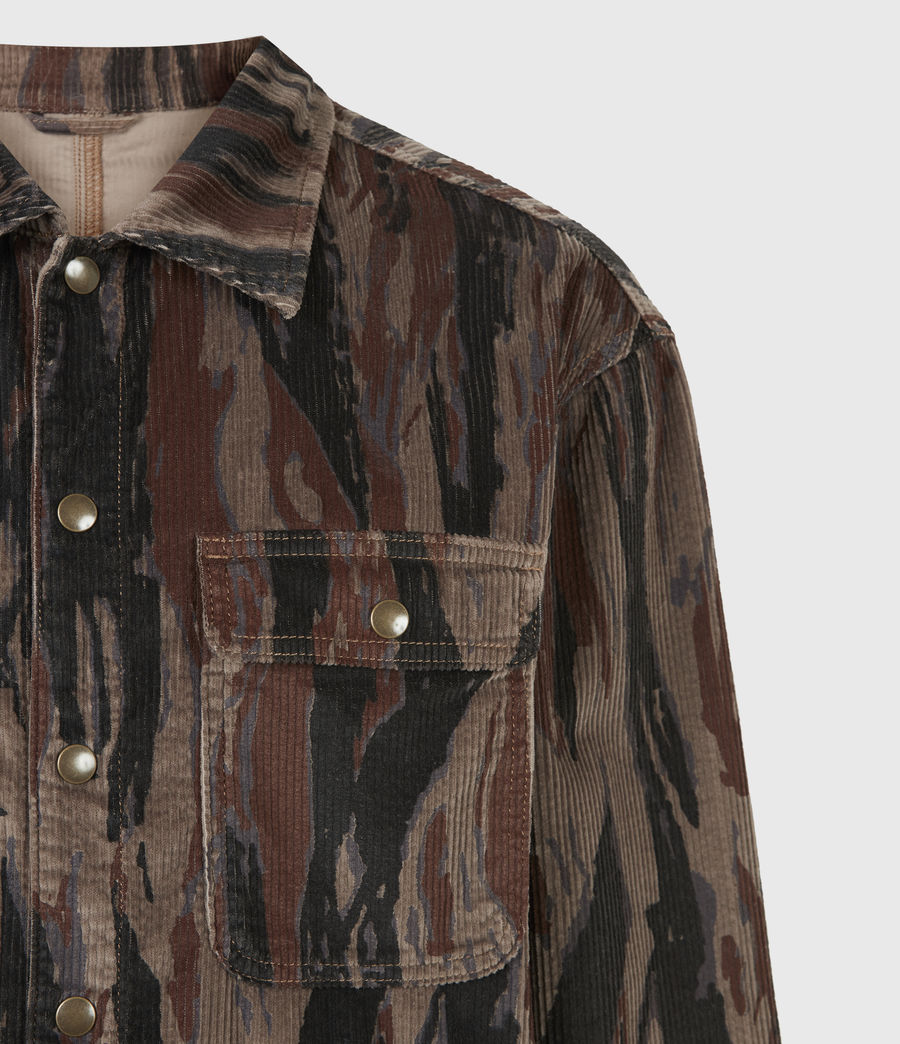 Men's Castleford Corduroy Shirt (valley_taupe) - Image 5