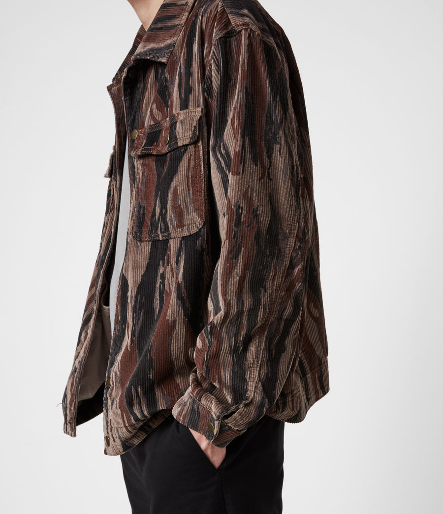 Men's Castleford Corduroy Shirt (valley_taupe) - Image 6