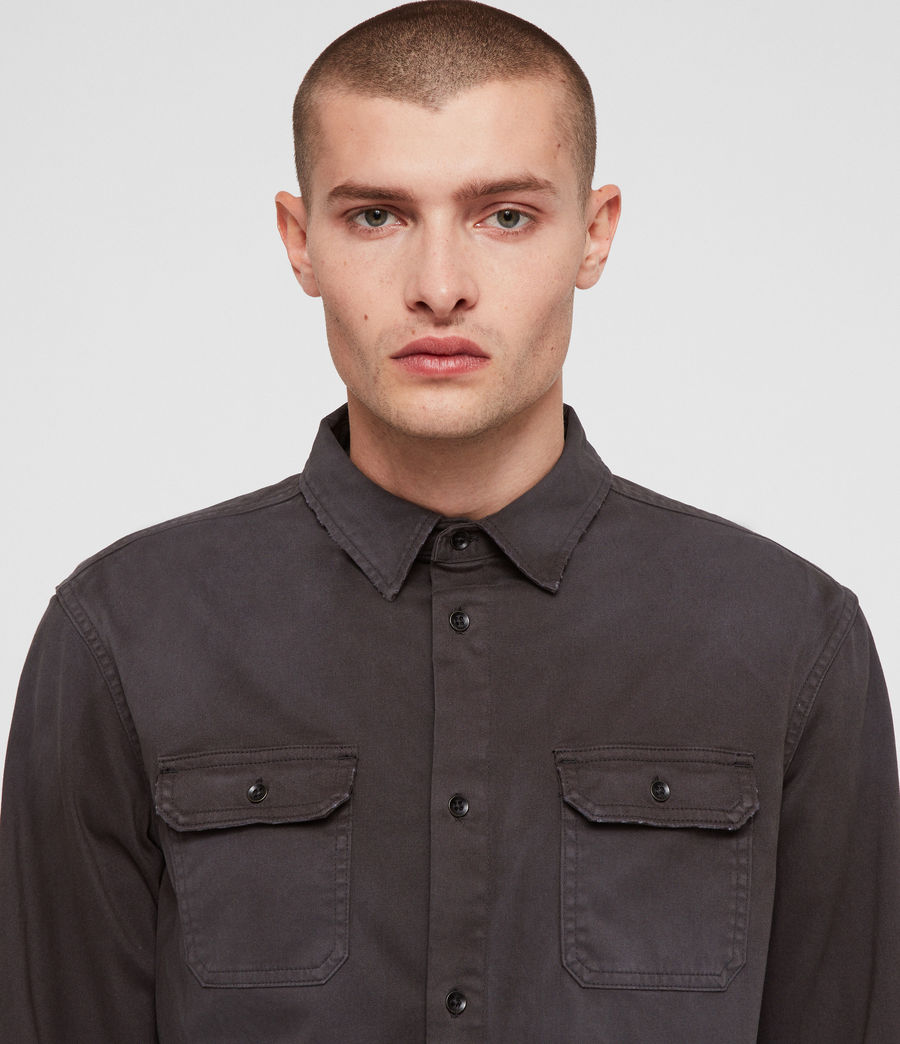 Men's Bryant Shirt (charcoal_grey) - Image 2