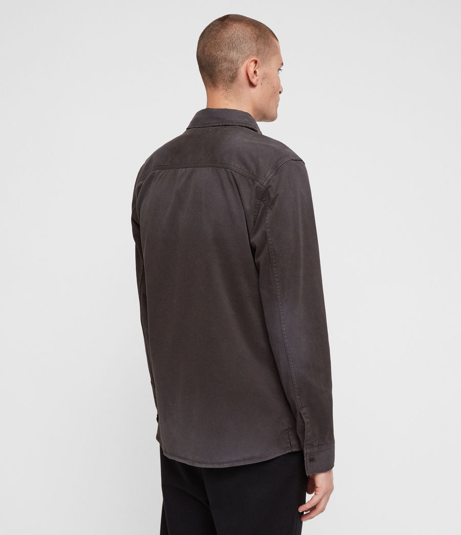 Mens Bryant Shirt (charcoal_grey) - Image 5