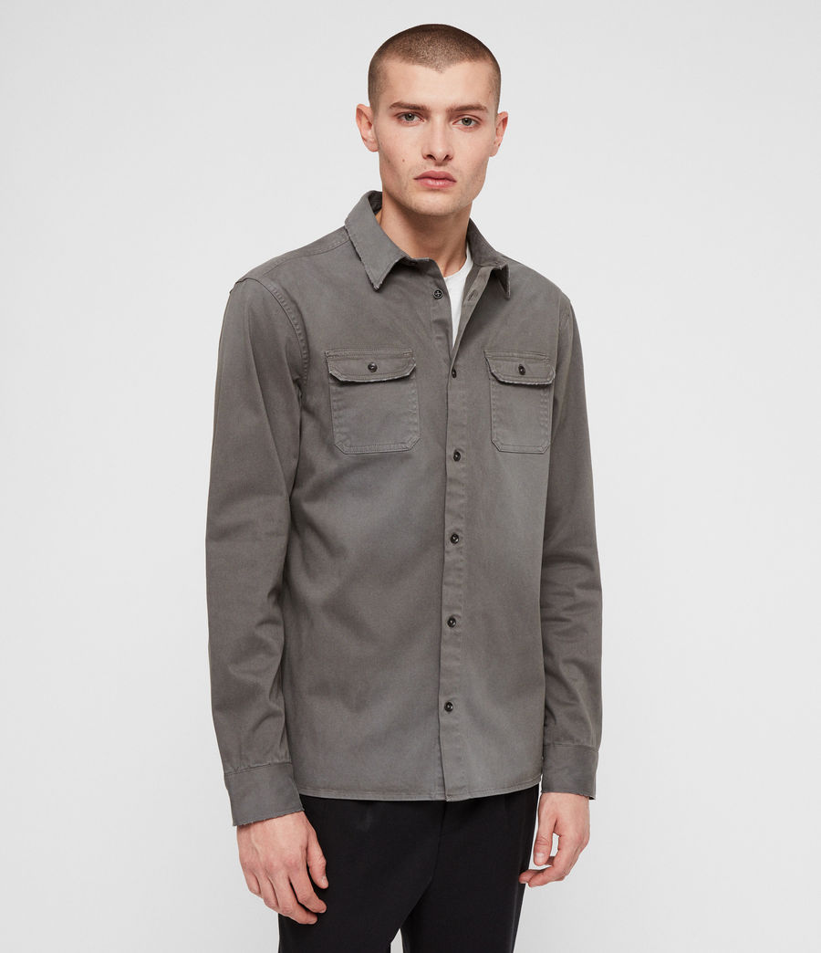 Men's Bryant Shirt (light_khaki_green) - Image 4