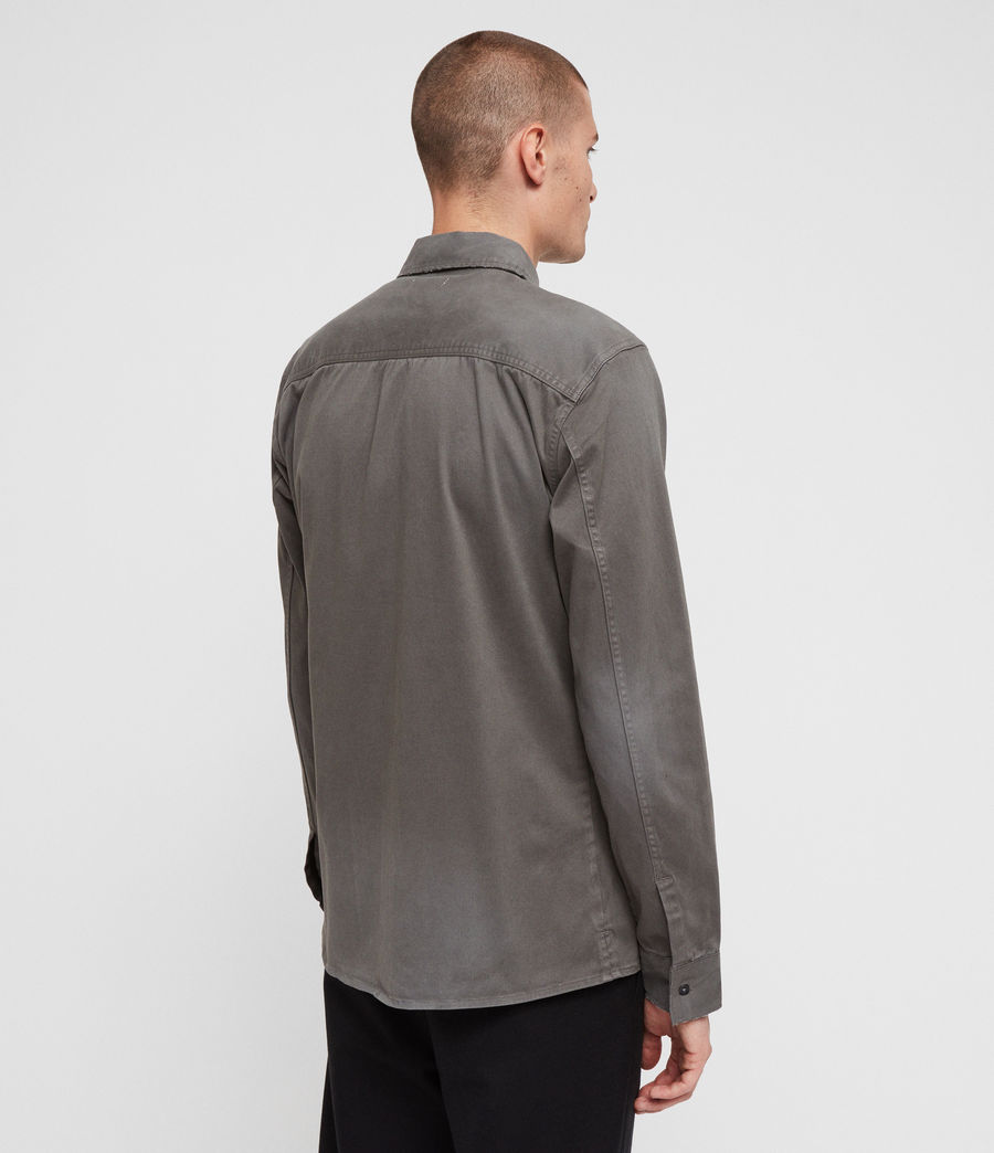 Men's Bryant Shirt (light_khaki_green) - Image 5