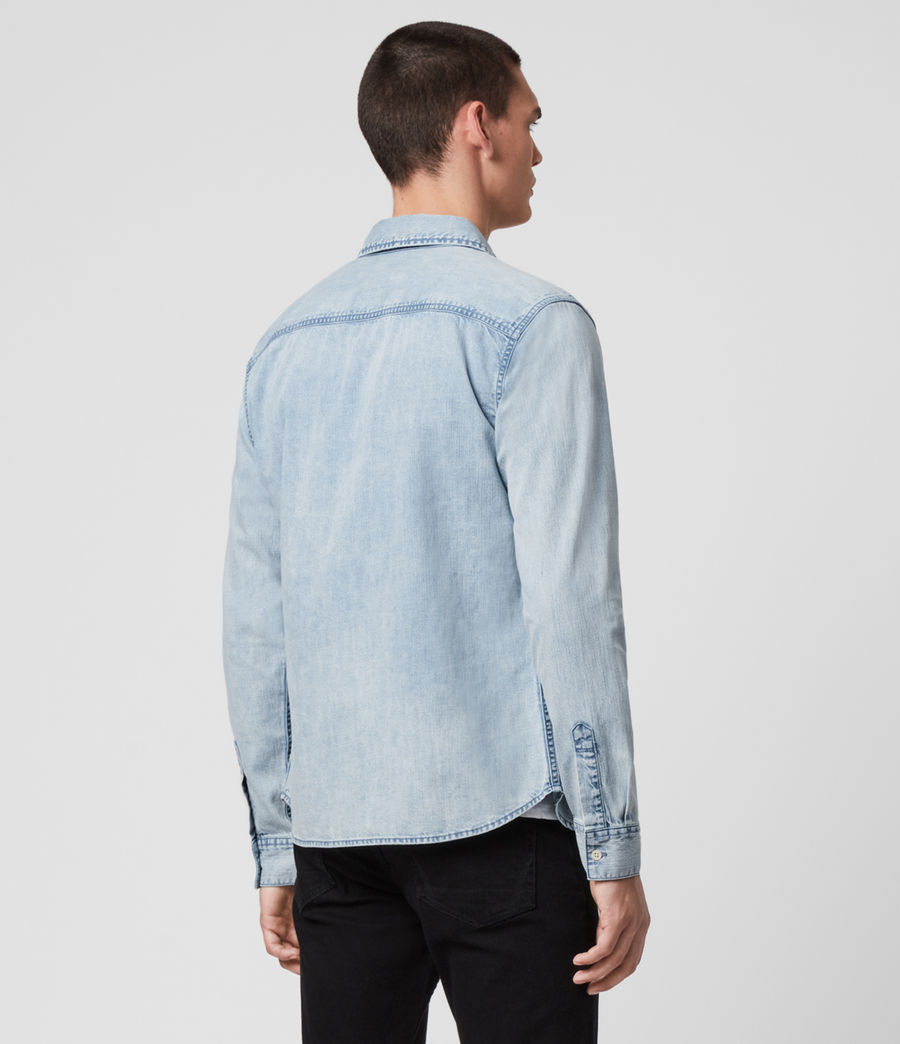 Hombres Darton Denim Shirt (light_indigo) - Image 4