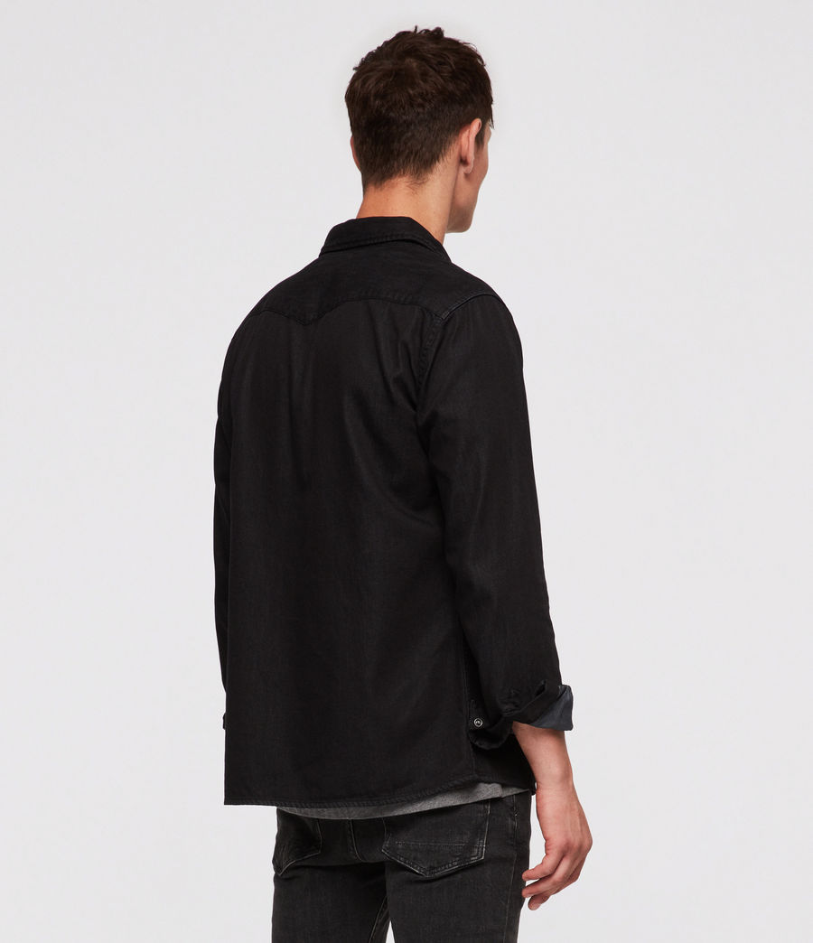 Men's Bramble Shirt (black) - Image 4