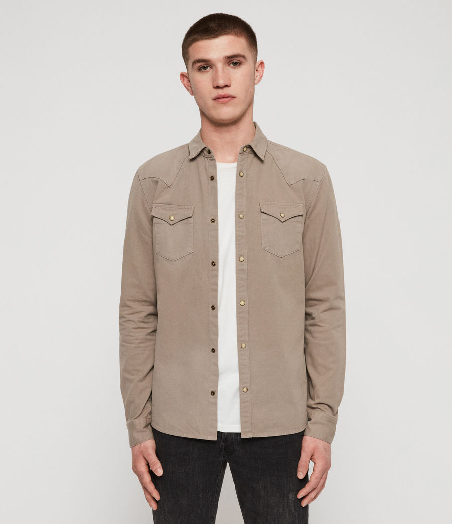 Men's Ceres Shirt (sutro_grey) - Image 1