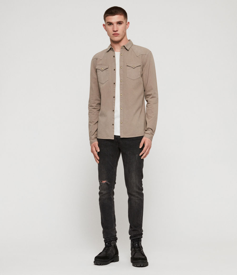 Mens Ceres Shirt (sutro_grey) - Image 3