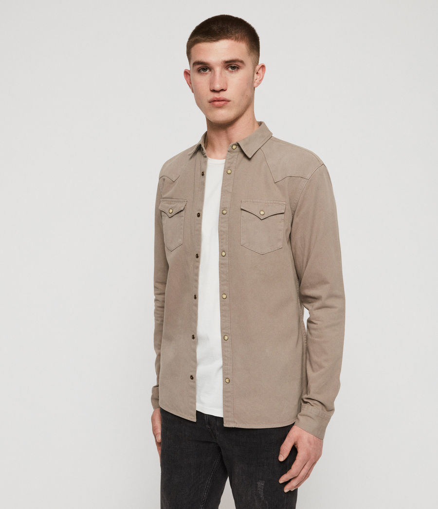 Men's Ceres Shirt (sutro_grey) - Image 4