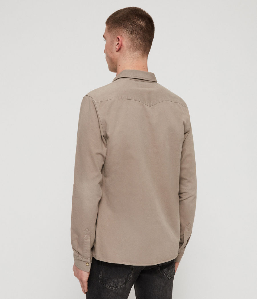 Mens Ceres Shirt (sutro_grey) - Image 5