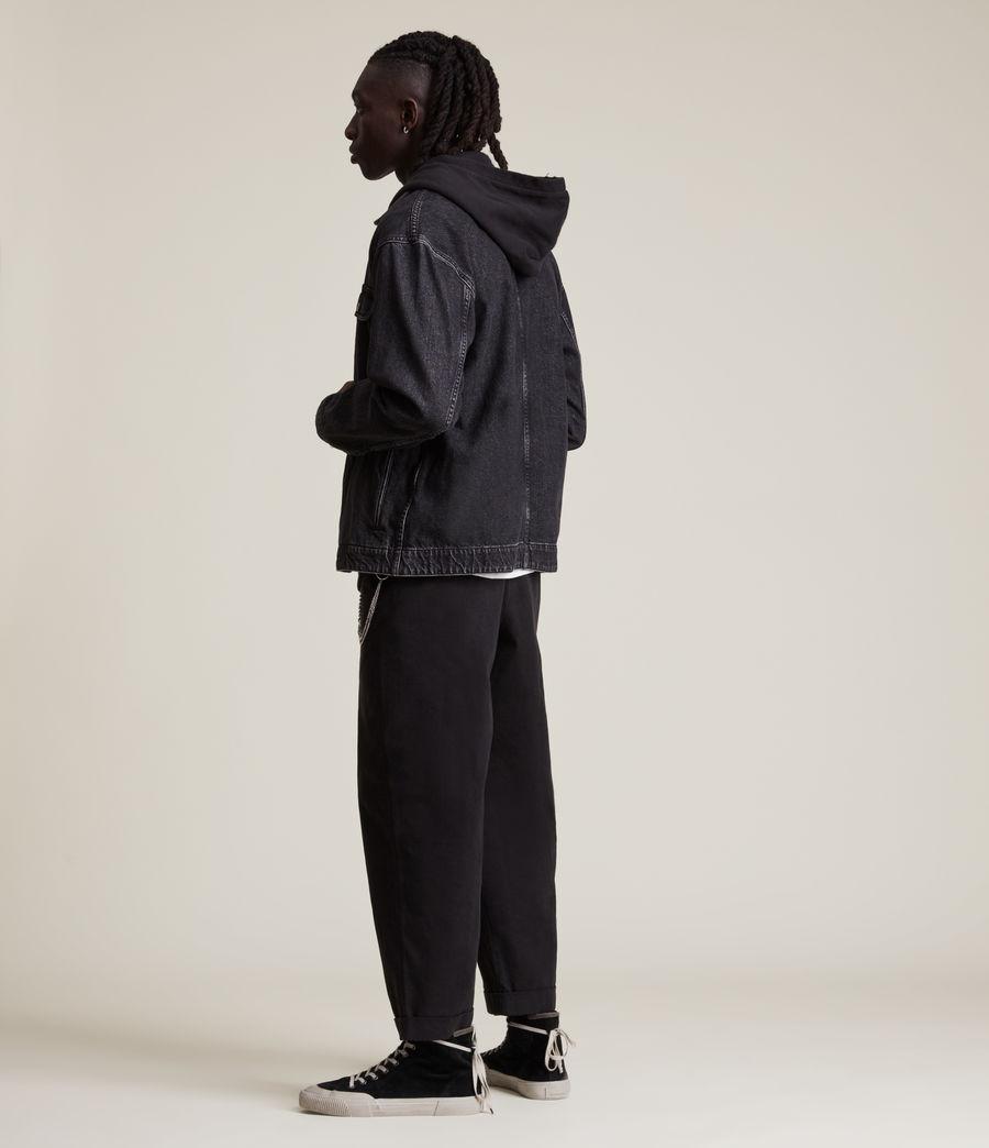 Herren Brea Denim Shirt (washed_black) - Image 5