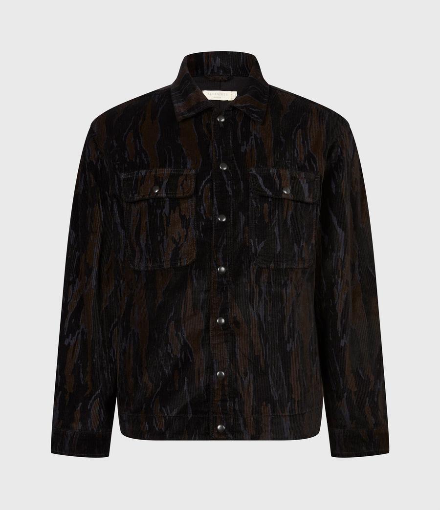 Men's Castleford Corduroy Shirt (black_camo) - Image 2
