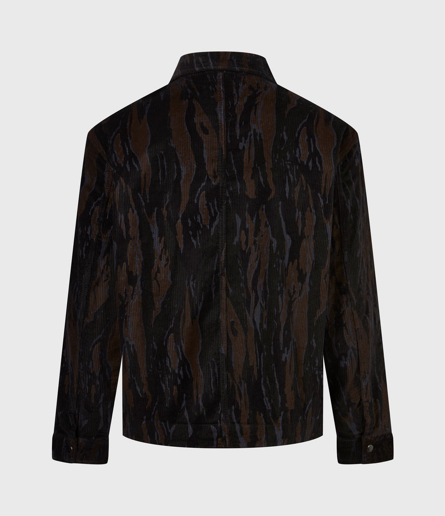 Men's Castleford Corduroy Shirt (black_camo) - Image 3