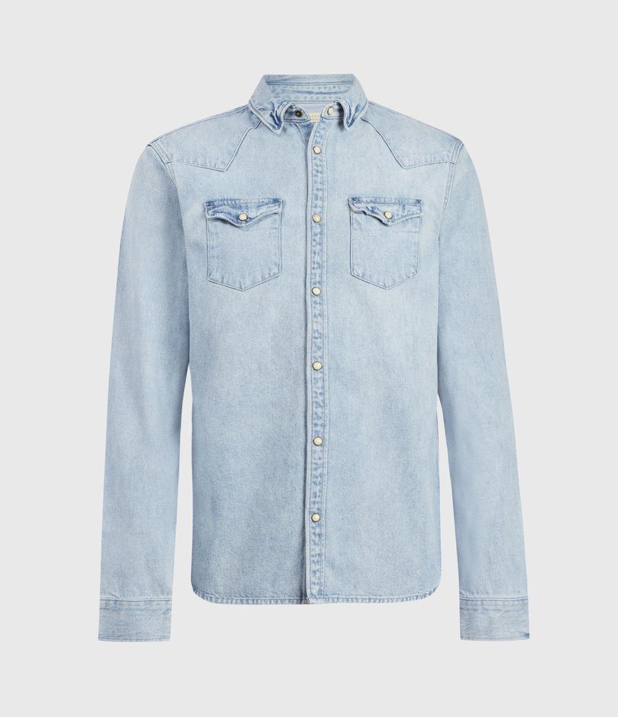 Hombres Gaya Denim Shirt (indigo) - Image 1