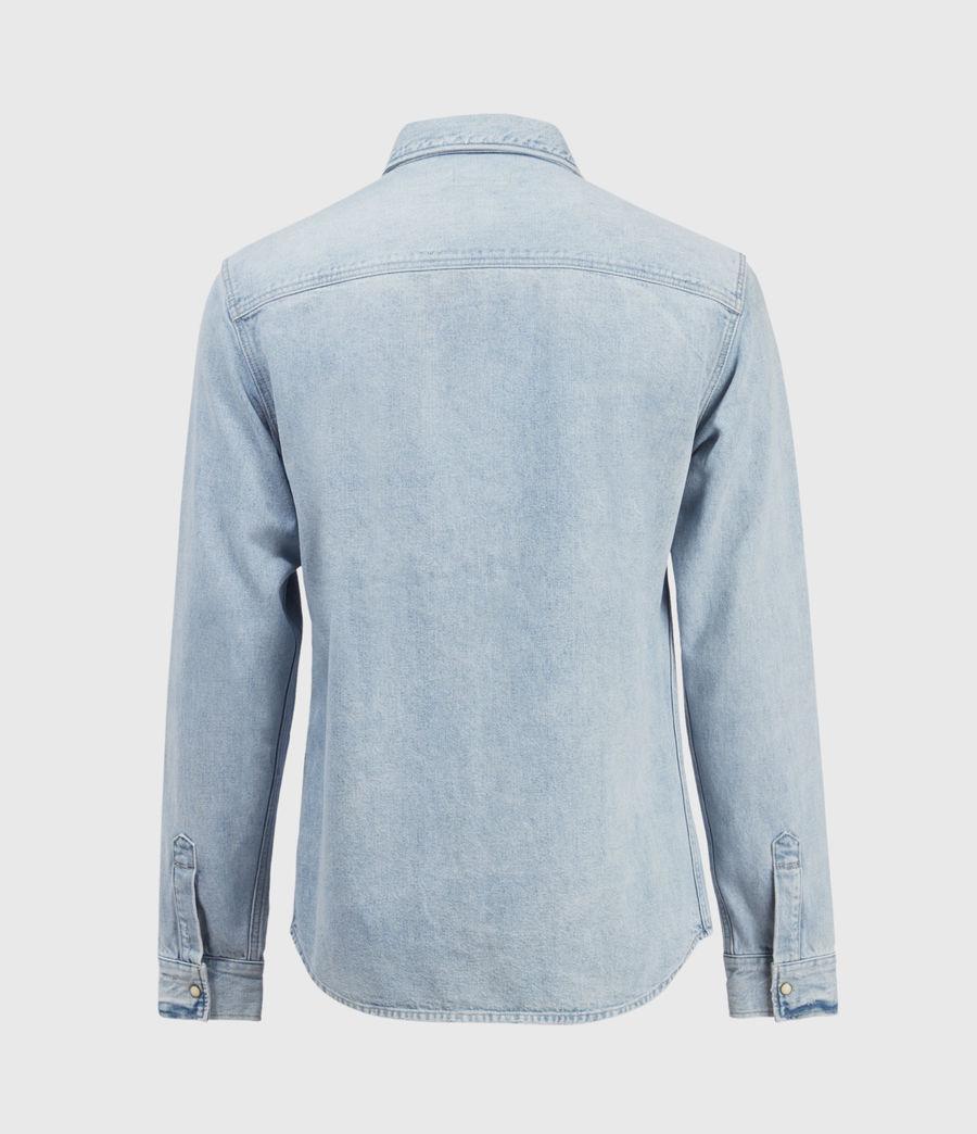 Hombres Gaya Denim Shirt (indigo) - Image 2