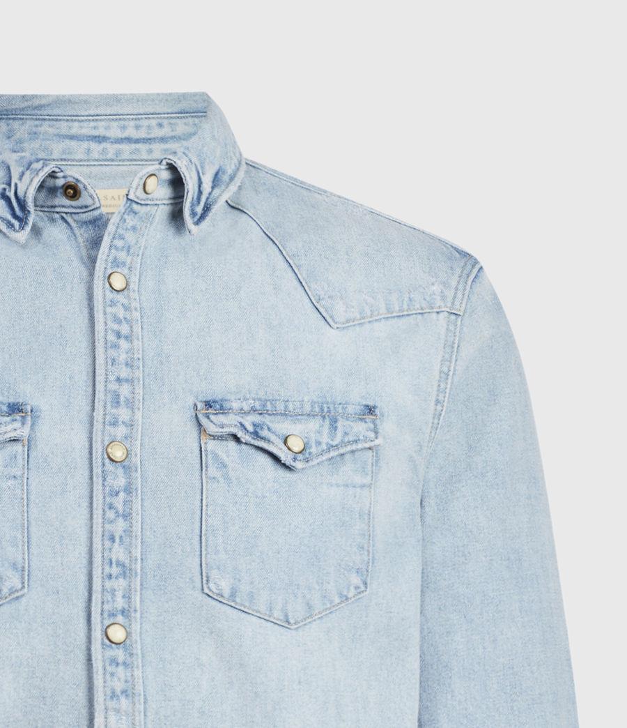 Hombres Gaya Denim Shirt (indigo) - Image 3